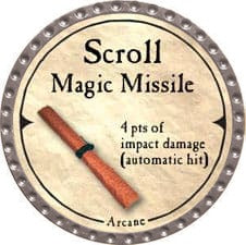 Scroll Magic Missile - 2007 (Platinum)