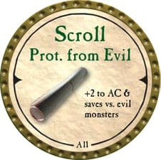 Scroll Prot. from Evil - 2007 (Gold)
