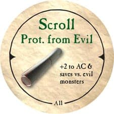 Scroll Prot. from Evil - 2006 (Wooden) - C37