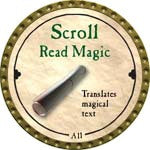 Scroll Read Magic - 2008 (Gold)