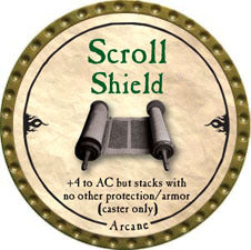 Scroll Shield - 2010 (Gold)