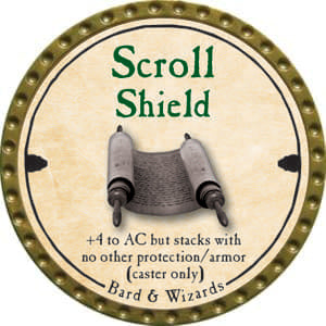 Scroll Shield - 2014 (Gold) - C49