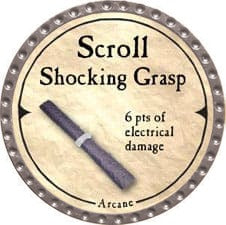 Scroll Shocking Grasp - 2007 (Platinum)
