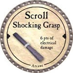 Scroll Shocking Grasp - 2008 (Platinum)