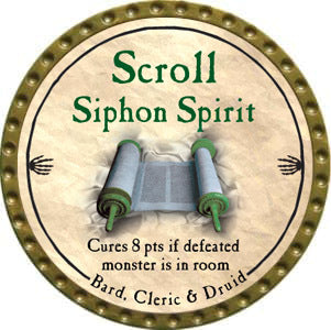 Scroll Siphon Spirit - 2012 (Gold)