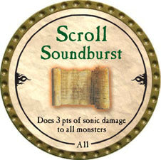 Scroll Soundburst - 2010 (Gold)