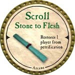 Scroll Stone to Flesh - 2007 (Gold)
