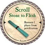 Scroll Stone to Flesh - 2007 (Platinum)