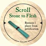 Scroll Stone to Flesh - 2006 (Wooden) - C37