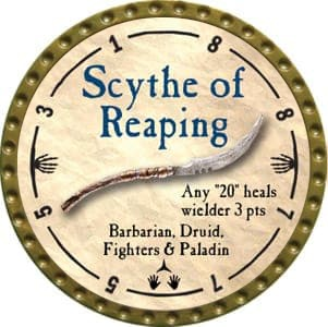 Scythe of Reaping - 2012 (Gold)