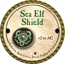 Sea Elf Shield - 2011 (Gold)