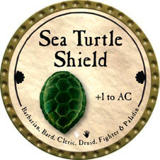 Sea Turtle Shield - 2011 (Gold)