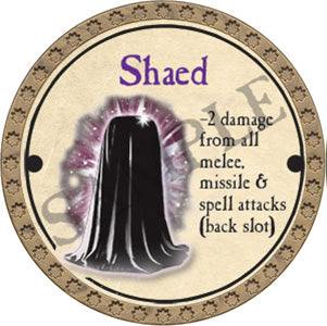 Shaed - 2017 (Gold)