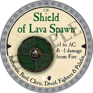 Shield of Lava Spawn - 2019 (Platinum)