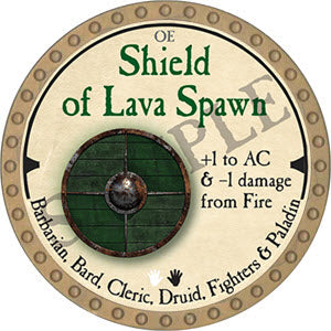 Shield of Lava Spawn - 2019 (Gold)