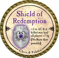 Shield of Redemption - 2010 (Gold) - C57
