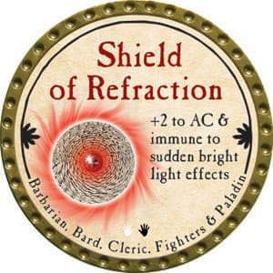 Shield of Refraction - 2015 (Gold)