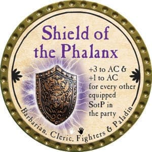 Shield of the Phalanx - 2015 (Gold) - C46