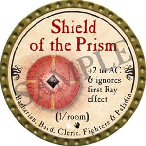 Shield of the Prism - 2016 (Gold) - C37