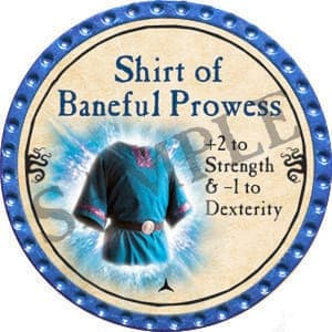 Shirt of Baneful Prowess - 2016 (Light Blue)