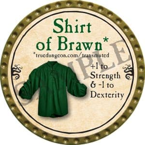 Shirt of Brawn - 2016 (Gold)