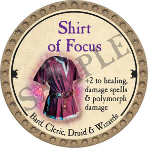 Shirt of Focus - 2018 (Gold)