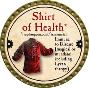 Shirt of Health - 2013 (Gold)