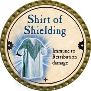 Shirt of Shielding - 2013 (Gold) - C26