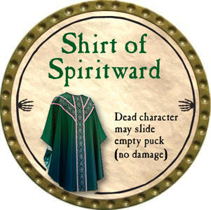 Shirt of Spiritward - 2012 (Gold)
