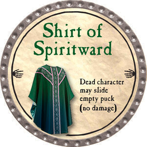 Shirt of Spiritward - 2012 (Platinum)