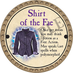 Shirt of the Fae - 2017 (Gold)
