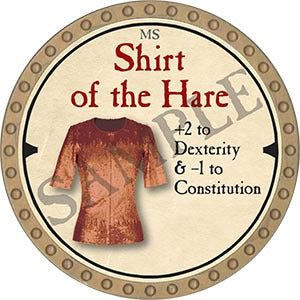 Shirt of the Hare - 2019 (Gold) - C22