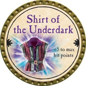 Shirt of the Underdark - 2015 (Gold) - C48