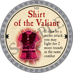 Shirt of the Valiant - 2018 (Platinum)