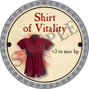 Shirt of Vitality - 2017 (Platinum)