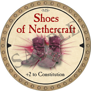 Shoes of Nethercraft - 2019 (Gold) - C51