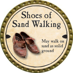 Shoes of Sand Walking - 2014 (Gold)