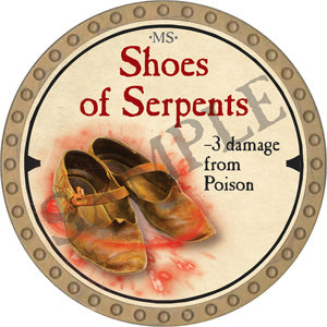 Shoes of Serpents - 2019 (Gold) - C22