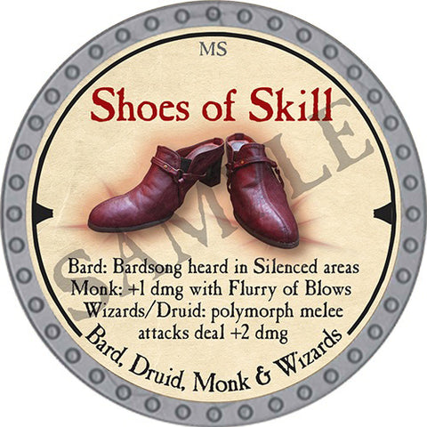 Shoes of Skill - 2019 (Platinum)