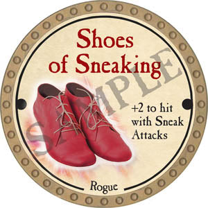 Shoes of Sneaking - 2017 (Gold)