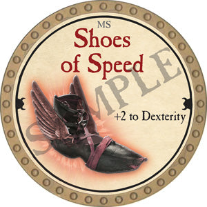 Shoes of Speed - 2018 (Gold)