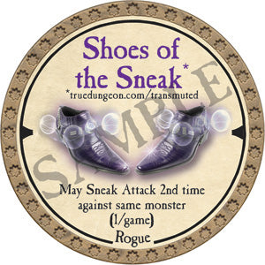 Shoes of the Sneak - 2019 (Gold) - C26