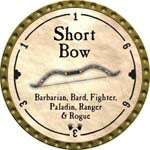 Short Bow - 2008 (Gold)