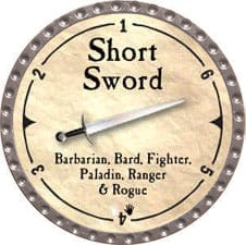 Short Sword - 2007 (Platinum)