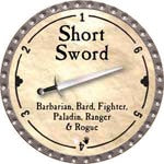 Short Sword - 2008 (Platinum)