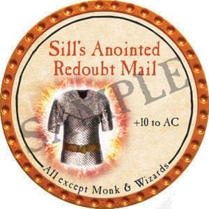 Sill's Anointed Redoubt Mail - 2016 (Orange) - C1
