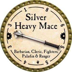 Silver Heavy Mace - 2013 (Gold)