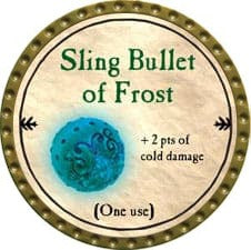 Sling Bullet of Frost - 2009 (Gold)