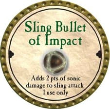 Sling Bullet of Impact - 2008 (Gold) - C49