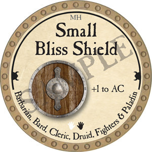 Small Bliss Shield - 2018 (Gold)